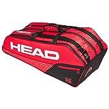 HEAD Unisex-Erwachsene Core 6R Combi Tennistasche, red/Black, Einheitsgröße