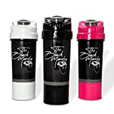 The SNAKER - by The Black Mamba | CYCLONECUP Shaker | patentiertes Cyclone-Sieb | unzerbrechlich |...