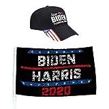 NIU MANG U.S. Election Biden Harris Autoflagge Biden 2020 Autofahne mit Biden 2020 Baseballkappe...