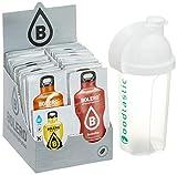 Bolero Kennenlernpaket mit ALLEN 58 Sorten + Foodtastic Shaker 500ml I zuckerfreies Getränkepulver...