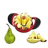 MASCHOTA® Apfelschneider Apfelentkerner mit 12 Klingen Apfelausstecher Apfelteiler Obstschneider...