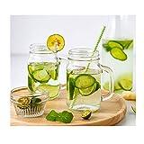 Getränke Longdrinkgläser, Milchbecher, Trinkgläser for Trinkwasser, Bier oder Soda, Trendy und...
