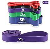 Coresteady Fitnessbnder | Klimmzug Support Band | Trainingsband fr CrossFit  Powerlifting /...
