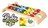 Voggenreiter Glockenspiel-Set fr Kinder ab 3 - 6 Jahren inkl. Baby Composer Lernsoftware App fr...