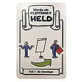 Werde ein Flipchart Held (Karten Set) - die perfekte Alternative zum Flipchart Buch/Kurs