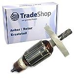 Anker/Rotor/Motor Ersatzteil/Läufer/Kollektor/Polpaket mit Lüfter ersetzt Makita 516148-3 für...