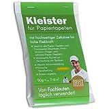 Tapetenkleister Papier Tapete Kleister Fototapete 50g (ca. 7-8 m2) - Ideal für Fototapeten,...