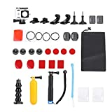 Bigking Action-Kamera-Zubehör, Action-Kamera Wasserdichtes Gehäuse Koffer Tauchzubehör-Kits für...