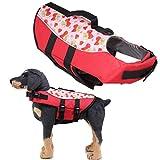 OUTANG Hunde Schwimmweste Schwimmweste Hunde Hundemäntel für kleine Hunde wasserdicht Hundemäntel...