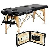 HAIT Klappbare Massageliege, Mobil Klappbar Massageliege mit Einfache Installation, Holzfüßen,...