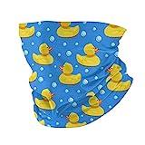 best& Gesicht Ma-sk Stirnband Gummiente Badeenten Seifenblasen Abdeckung Mode Kopfbedeckung Bandana...