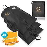 Maluma Premium Kleidersack Set - Mit Wasserabweisendem Vlies - Inklusive gratis Schuhsack - Optimal...