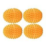 4 teile/satz Trocknerkugeln Orange Trocknerbälle Wäsche Trocknen Ball Wiederverwendbare Dryer...