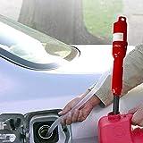 GzxLaY Batteriebetriebene Flssigkeitspumpe, fr Auto/Motorrad/Fahrzeug/Boot, fr Rasenmher & Manual,...