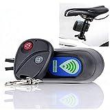 Fahrrad Alarmanlage - Drahtlose Motorrad Fahrrad Alarm, Diebstahlsicherung Alarm Mit Fernbedienung,...
