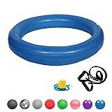 Glamexx24 Weich Gymnastikring Dick Anti-Burst für Sitzball Peziball Swissball Fitnessball...