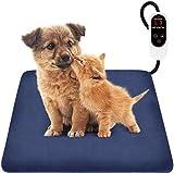Focuspet Haustier Heizkissen, Heizmatte für Hunde Katzen 60x45, 45x45cm mit 12 Timer- und 6...