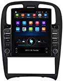 WYFWYT Autoradio Stereo Radio für Hyundai Sonata Fe 2004-2012 mit Android Doppel 2 Din Sat NAV 9,7...