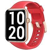 Letsfit Smartwatch, 1.55 Zoll Fitnessuhr mit Schrittzähler, Fitness Tracker mit Pulsuhr...