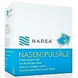 60x Nasenspülsalz · große Vorratspackung · praktische Beutelchen · NARSA® Nasensalz für die...