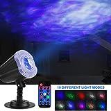 IREGRO LED Projektor Sternenhimmel, Ozean Sternenhimmel 2 in 1 Projektor, Projektor Sternenhimmel...