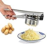 Home-X Kartoffelstampfer, Lebensmittelpresse, Obstpresse, nützliche Küchengeräte