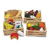 Melissa & Doug Nahrungsmittelgruppen aus Holz (21 Teile)