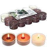Smart-Planet® Kerzen Ambiente Vanille Duft - 30 Stück Duftteelichte Duftkerzen - 30er Packung...