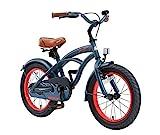 BIKESTAR Premium Sicherheits Kinderfahrrad 16 Zoll für Jungen ab 4 - 5 Jahre ★ 16er Kinderrad...