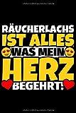 Notizbuch liniert: Räucherlachs Geschenke für Räucherlachs-Liebhaber lustig