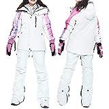 Acant Warmer Damen Skianzüge Im Freien Winddicht Wasserdicht Snowboard Ski-Jacken + Ski-Hosen B...