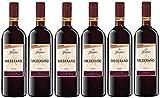 Mederao Tinto Wein 1, Cuve, halbtrocken, Rotwein aus Spanien, (6 x 1l)