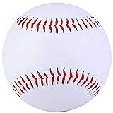 Weiße Trainingsball, PVC und zerquetschtes Handcraft-Futter-Kork-Füllstäbe Praxis Baseballs
