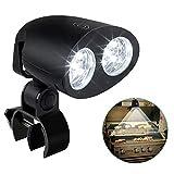 CestMall LED BBQ Grill-Lampe 360 Grad schwenkbar Grill-Licht Grill-Leuchte Schraub-Befestigung...