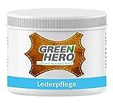 Green Hero Lederpflege, 500 ml, Balsam mit Bienenwachs zur Pflege und Imprägnierung von Leder,...