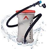Atacama Trinkblase 2L BPA frei - 2 Liter Rucksack Wasserbeutel mit insuliertem Trinkschlauch für...