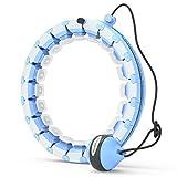 HuaMulan Smart Hoola Hoop, Smart Fitness Reifen der Nicht runterfällt mit Massageknoten und 24...