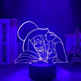 Anime Blue Exorzist Mephisto Pheles Illusion Nachtlicht Form 3D Effekt 7 Farben Cambiantes
