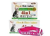 JIKLLSJID Pro Pet Kill Flohschutz Flohei Moskitos Zeckenhalsband (Katze)