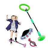 Skip Ball Training Faltbares, blinkendes Sport-Swingball-Set Skip it Toy für Kinder