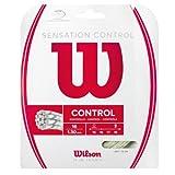 Wilson Unisex Tennissaite Sensation Control, natur, 12,2 Meter, 1,30 mm, WRZ941200