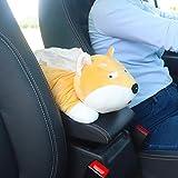 ZHANGJ Hochwertige Universal Auto Armlehne Tissue Box Cartoon Cute Tissue Box Autoinnenausstattung...
