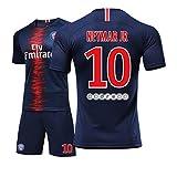 10# Neymar JR daSilvaSantosJnior Jungen und Mdchen Kinder Erwachsene Mnner und Frauen Trikots Fuball...