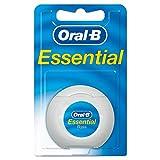 Oral-B Essentialfloss Zahnseide ungewachst, 50 m
