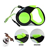 Sicherheitsgeschirre YSJ Hundeleine Retractable Neon Glowing 16ft Gehen Haustier Reflective Durable...