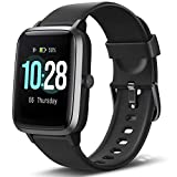Letsfit Smartwatch, Fitness Tracker Voll Touchscreen Fitness Armbanduhr mit Pulsmesser Schlafmonitor...