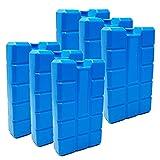 ToCi 6er Set Khlakku mit je 400 ml | 6 Blaue Khlelemente fr die Khltasche oder Khlbox