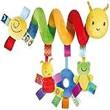 MMYZZAU SpiralaktivitätsAufhängungsspielzeug, Kinderwagenspielzeug, Kinderwagensitze,...