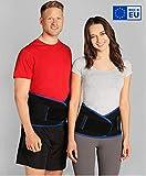 BeFit24 Premium Rückenbandage Lendenwirbel für Herren und Damen - Ischias-Bandage - Stützgürtel...