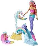 Barbie FXT25 - Dreamtopia Meerjungfrauen Babysitter Spielset und Puppe, Spielzeug ab 3 Jahren